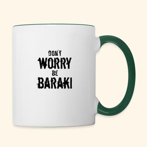 Be Baraki (Noir) - Mug contrasté
