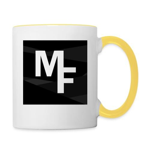Modern Flex YouTube Logo - Contrasting Mug