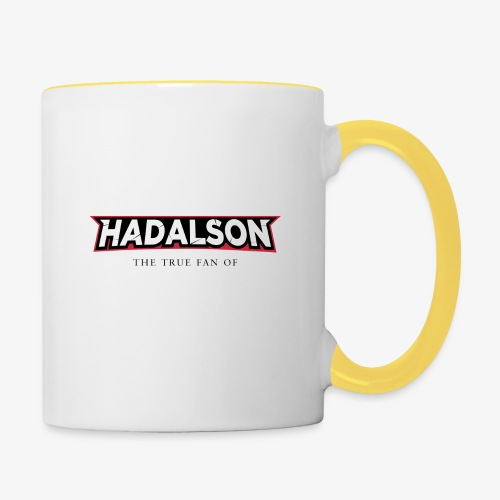 The True Fan Of Hadalson - Contrasting Mug