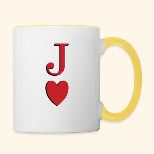 Valet de trèfle - Jack of Heart - Reveal - Mug contrasté