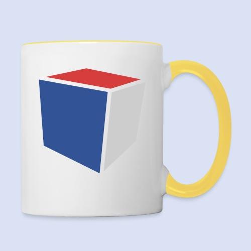 Cube Minimaliste - Mug contrasté