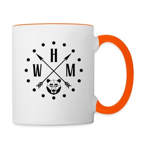 Waltherman logo flèches - Mug contrasté