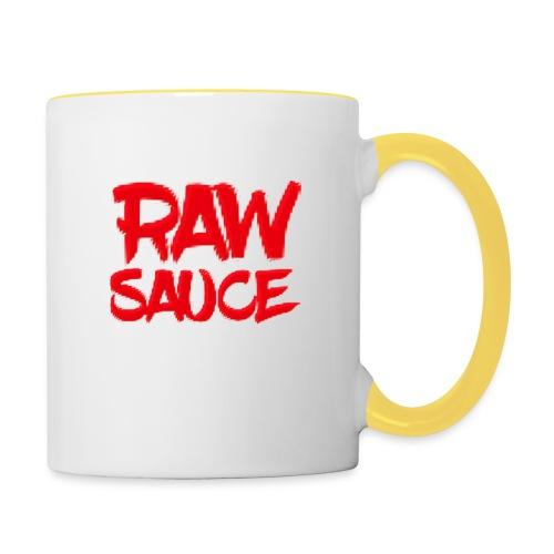 Raw Sauce - Mok tweekleurig