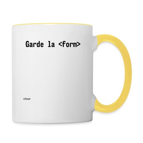 Design_dev_blague - Mug contrasté