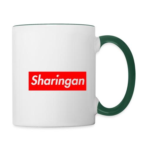 Sharingan tomoe - Mug contrasté