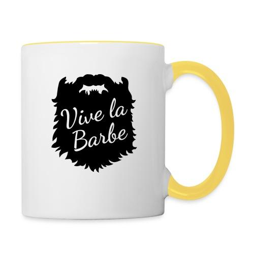 T-Shirt Barbe : Vive la Barbe - QueBellissimo - Mug contrasté