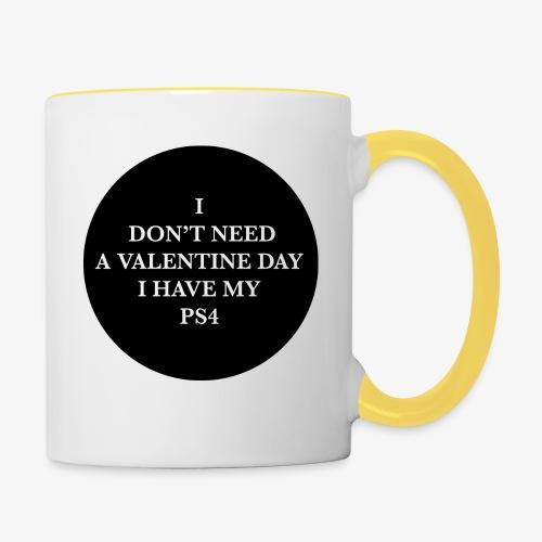 Valentine Day - Love videogame - Tazze bicolor