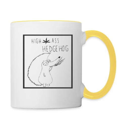 HIGH ASS HEDGEHOG - Contrasting Mug