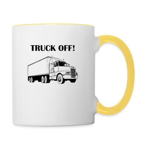 Truck off! - Contrasting Mug