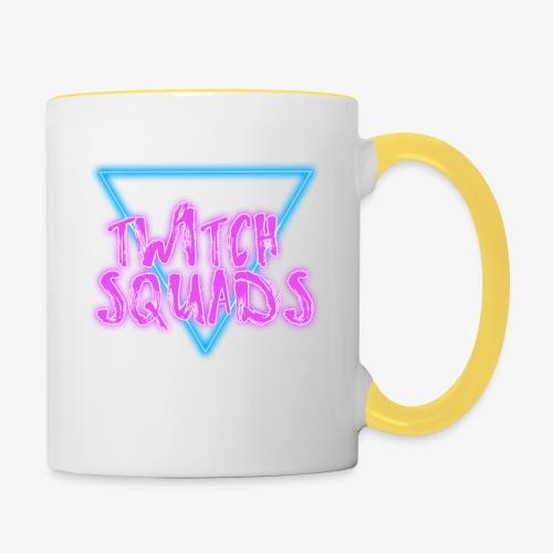 Pure Triangle Logo - Contrasting Mug
