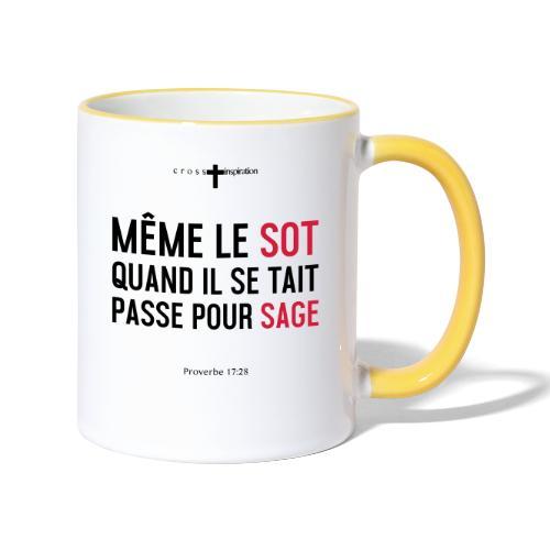 Sage - Mug contrasté