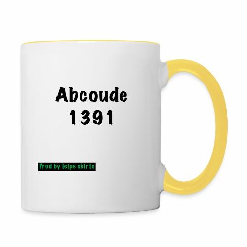 Abcoude post code merk - Mok tweekleurig