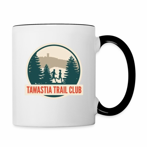 TawastiaTrailClub - Kaksivärinen muki