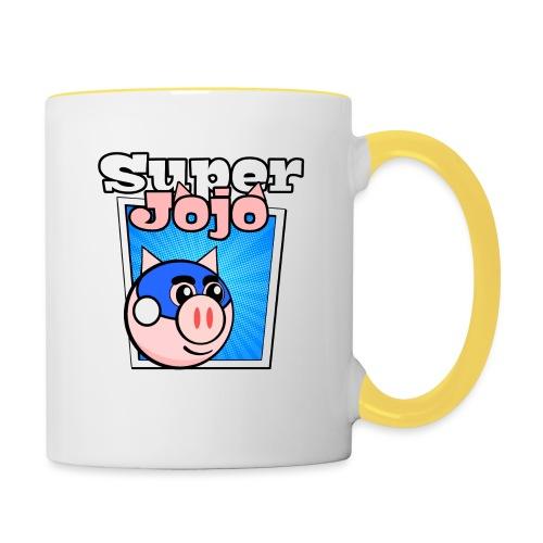 Super Jojo Game Icon - Contrasting Mug