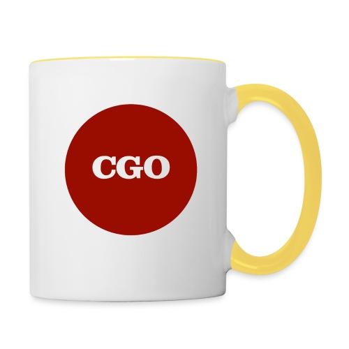 watermerk cgo - Mok tweekleurig