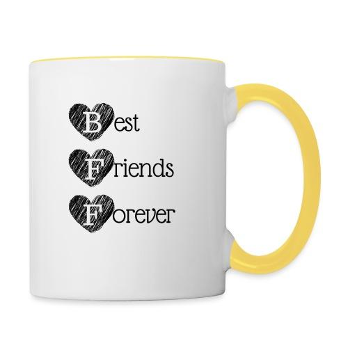 BFF DESIGN - Contrasting Mug