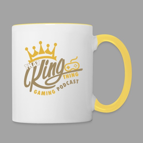 That King Thing Logo (dark) - Contrasting Mug