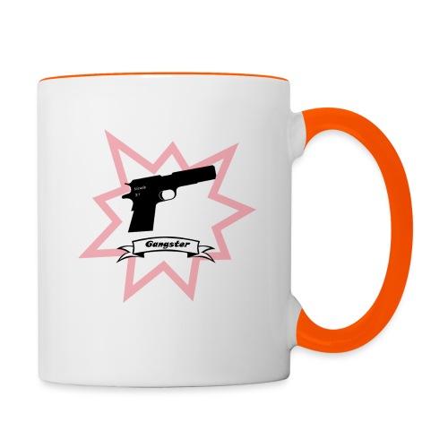 Gun with boom! - Contrasting Mug