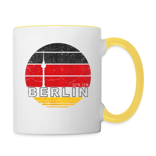 BERLIN, Germany, Deutschland - Contrasting Mug
