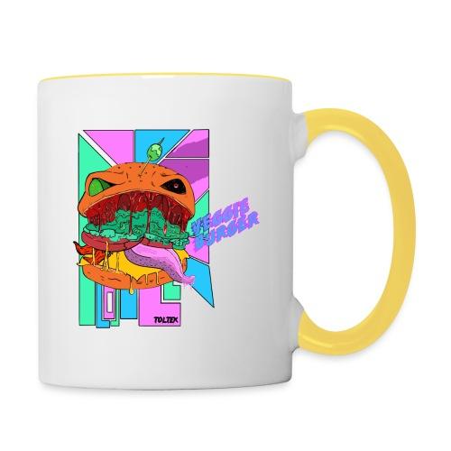 Veggie Burger - Mug contrasté