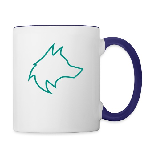 Wolf Pack Logo (NEW) - Contrasting Mug