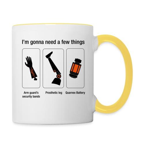 Rocket citation Few things gardiens - Mug contrasté