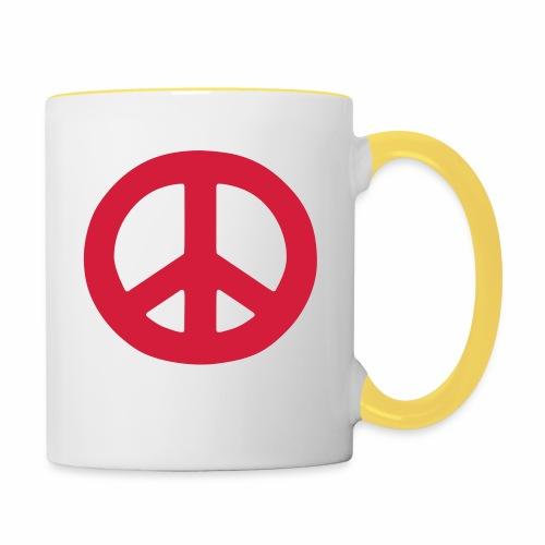 Peace - Contrasting Mug