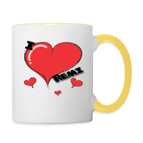 I love Remi - Tofarget kopp