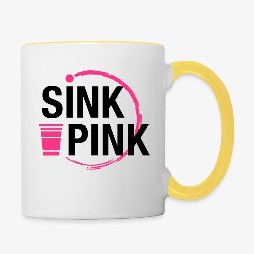 Sink Pink - Tasse zweifarbig