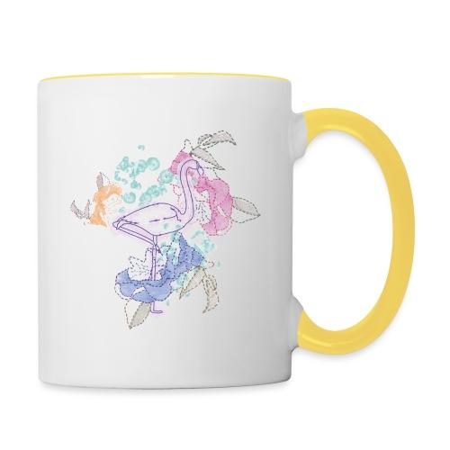 peacock - Contrasting Mug