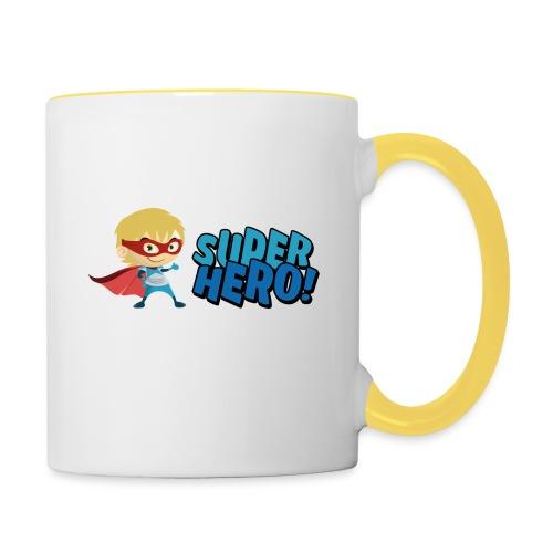 Super Hero - Mug contrasté