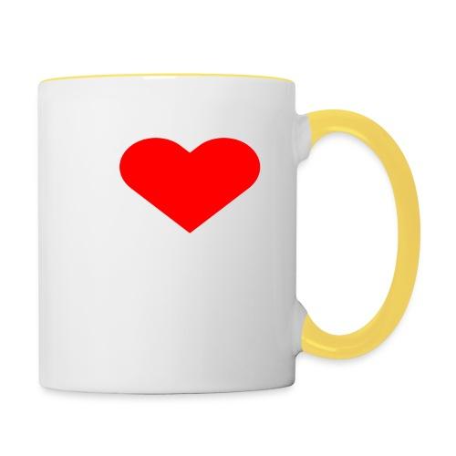 I LOVE FITNESS - Tasse zweifarbig