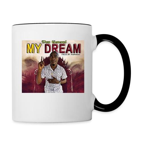 my dream - Contrasting Mug