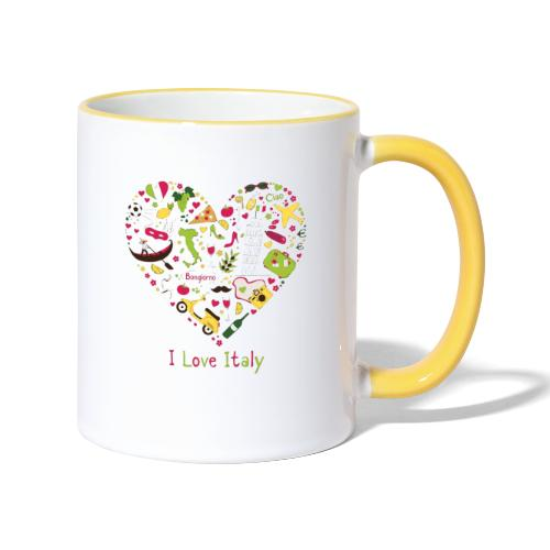 ILOVEITALY - Mug contrasté