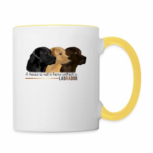 Labrador - Mug contrasté