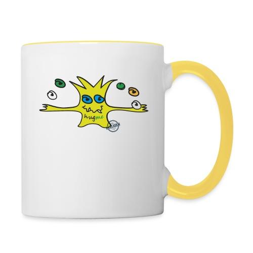 Hug me Monsters - Every little monster needs a hug - Contrasting Mug