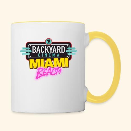 Miami Beach - Contrasting Mug