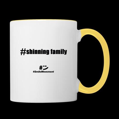 shinning family - Mug contrasté