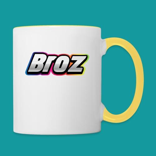 Broz - Mok tweekleurig