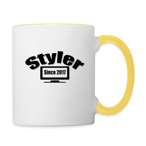 Styler Designer - Mok tweekleurig