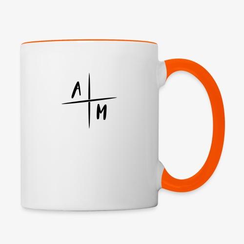 AM Cross Logo - Mok tweekleurig