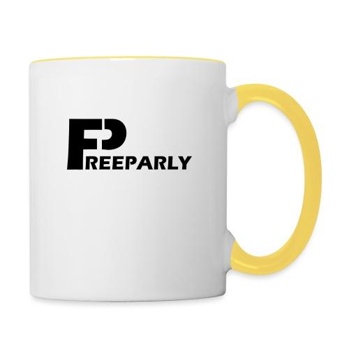 Freeparly - Mok tweekleurig