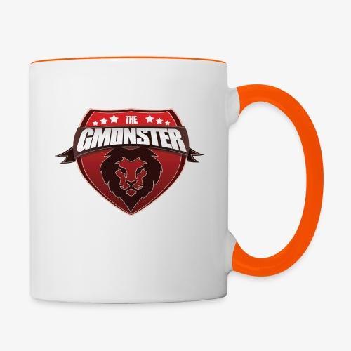 TheGMonster Logo Grand - Mug contrasté