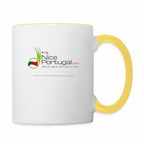 NicePortugal.com Logo - Tazze bicolor