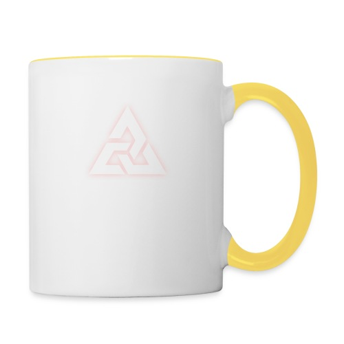 Großes Logo [JxsyFX] - Tasse zweifarbig