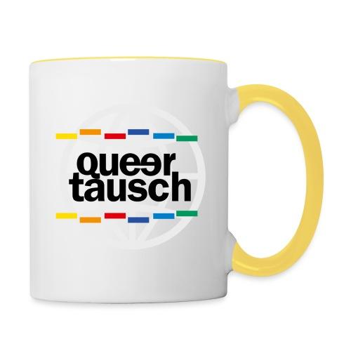 AFS Queertausch - Tasse zweifarbig
