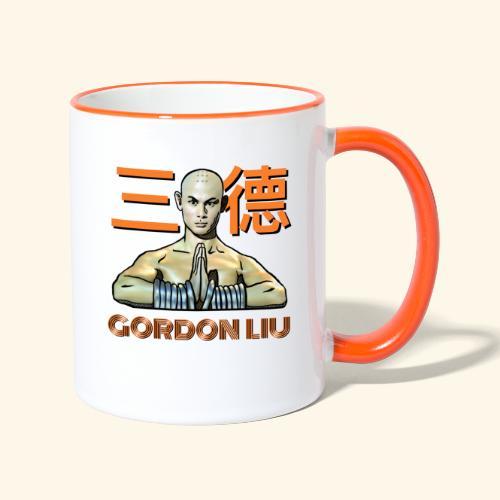 Gordon Liu - San Te - Monk (officiel) 9 prikker - Tofarvet krus