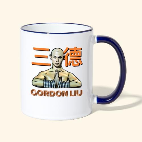 Gordon Liu - San Te - Monk (Official) 9 dots - Mok tweekleurig