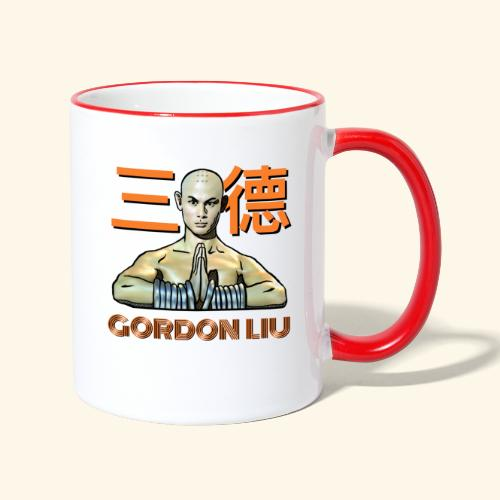 Gordon Liu - San Te - Monk (Official) 9 dots - Mok tweekleurig
