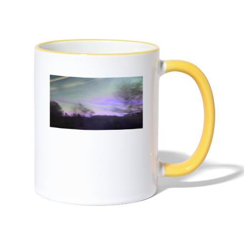 lilac sky - Tofarvet krus